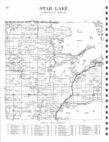 Star Lake, Otter Tail County 1933